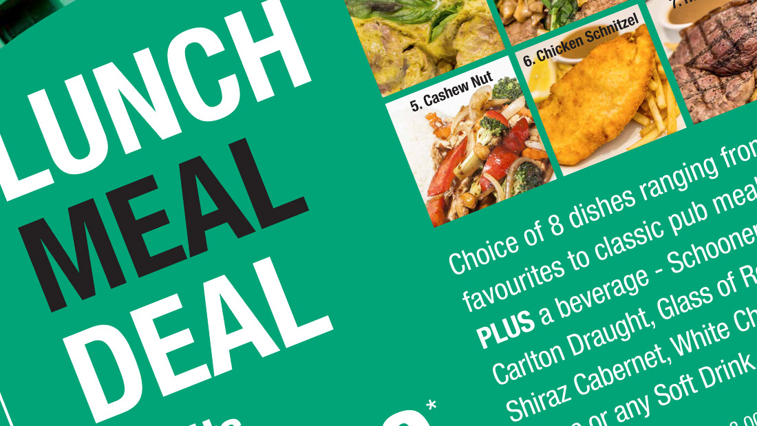 Chamberlain Hotel Lunch Deal